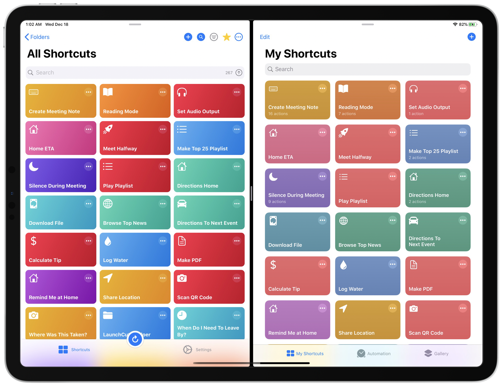 iOS 12-style bright icons