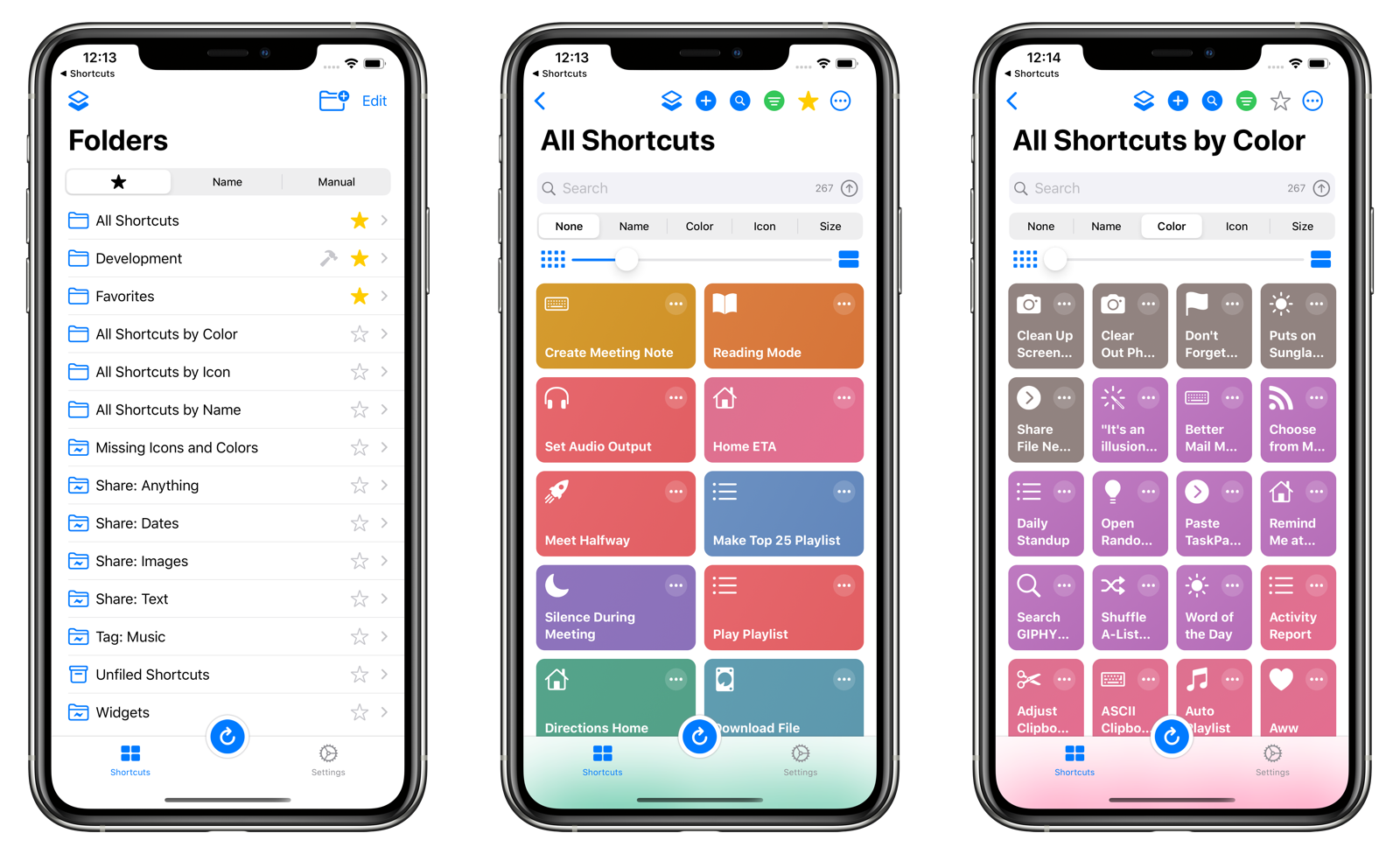 LaunchCuts Home on iOS