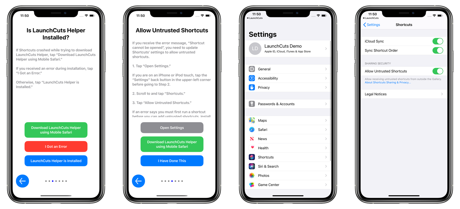 Allowing Untrusted Shortcuts